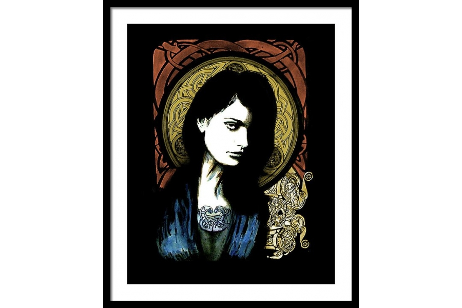 Celtic Goddess Framed P..