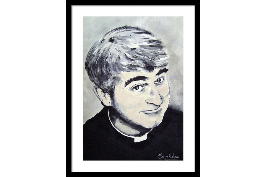 Father Ted Framed Print