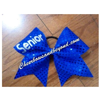 SENIOR CHEER BOWS ..