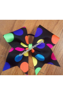Rainbow Polka Dot Cheer..