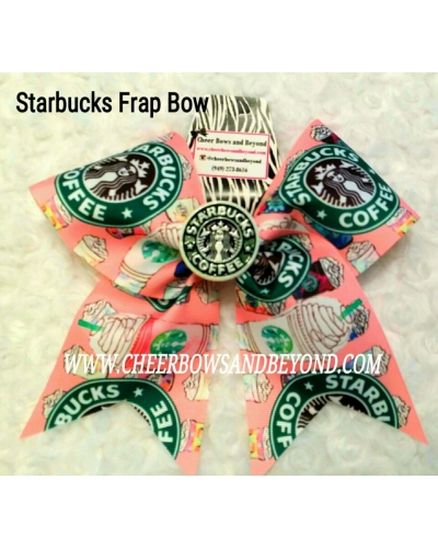 Starbucks Frap Cheer and Dance Bow