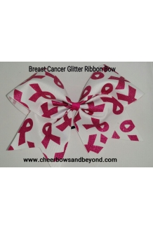 Breast Cancer Glitter Cheer ..