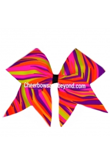 Rainbow Taffy Zebra Cheer Bo..