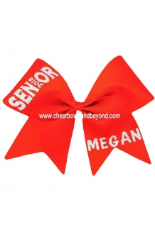 Senior Cheer Bow*Personalize..