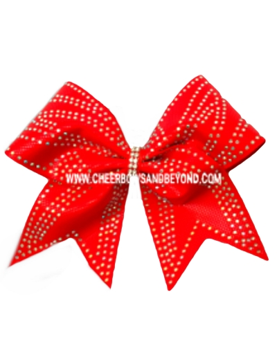 Stardom Rhinestone Cheer Bow Or Tail-less Style