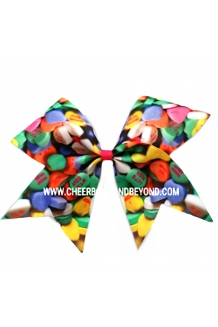 Sweetheart Valentine Cheer Bow