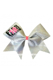 Fear The Bow Cutout  Cheer Bow