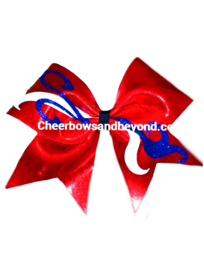 Cali Girl Design 1 Cheer Bow*Custom Create this Bow*