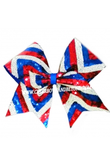 Chevron USA Sequin Cheer and..