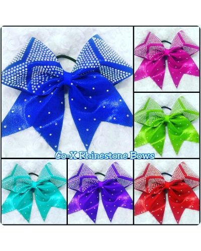 Co- X Rhinestone Bow