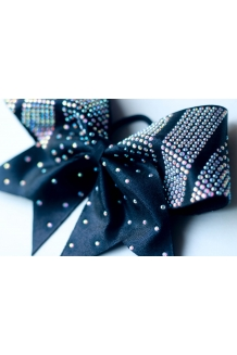 Dash Diva Rhinestone Cheer Bow