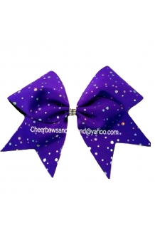 Winter Classic Cheer Bow*Opt..
