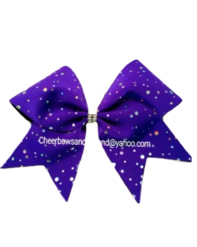 Winter Classic Cheer Bow*Option To Personalize*