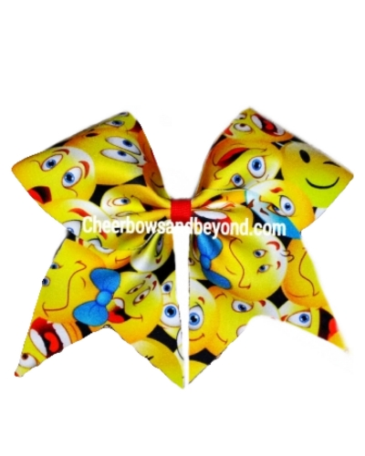 Emoji Cheer And Dance Bow