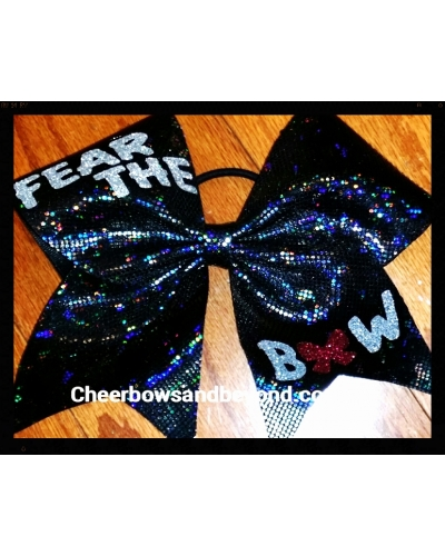 Fear The Bow Cheer Bow *Several Colors and styles*