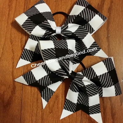 Plaid Fad Hair Bow