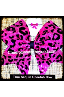 True Sequin Pink Cheetah/Leo..