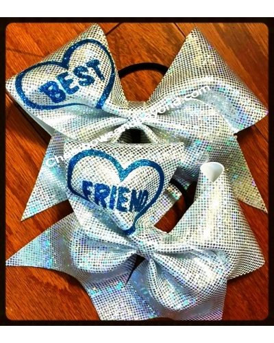 Holographic BFF Cheer Bows*Several color options*