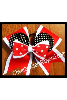 Minnie Ear 2 Layer Cheer Bow..