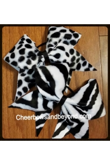 Zebra or Dalmatian Fur Cheer..