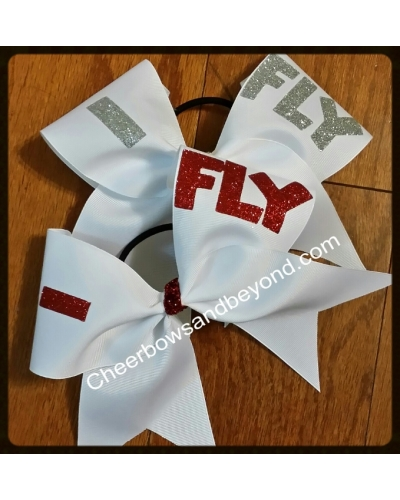 Stunting Cheer Bows, IFly,IBase,IBack,IFront Several Color Options