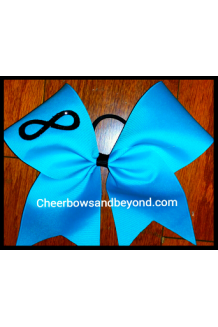 Infinity Solid Cheer Bow*Cus..