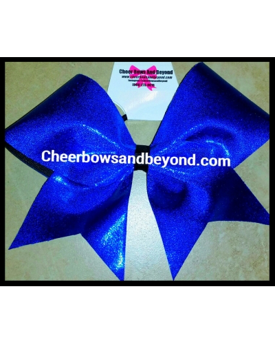 Mystique or Metallic Solid Color Cheer Bow*Option to Add Name*