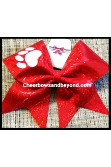 Holographic Paw Print Cheer ..