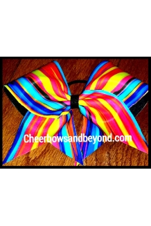 Groovy Cheer Cheer Bow