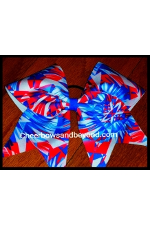 American Aztec Cheer Bow*Tic..