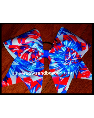 American Aztec Cheer Bow*Tick Tock style & Customize Option *