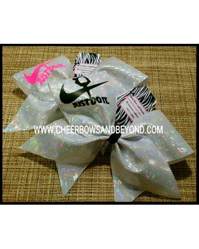Just Do It Scorpion Cheer Bow*Several Color Options*