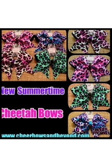 NEW Summertime Cheetah Bows*..