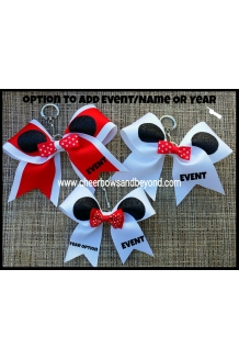 Minnie Ear Bow Key chain*Several customize Options*