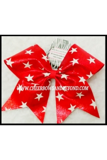 Mystique Star Cheer Bow*Red ..