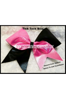 Tick Tock Cheer Bow*Bow..
