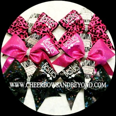 Besties Cheer Bow ..