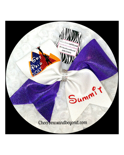 Custom Summit Cheer Bow*Got Bid Not included In Price*