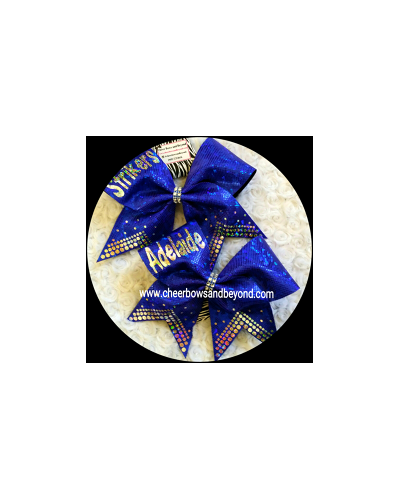 Tetras Fantail Cheer & Dance Bows *Personalize Option*