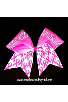 Think Pink Sublimation Cheer..