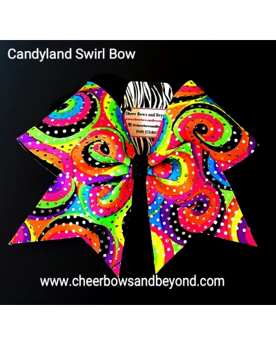Candy Land Bow *Also Tail-less Option Available*