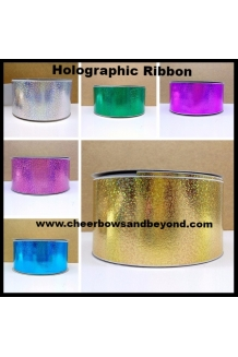 Holographic Grosgrain Bow or..