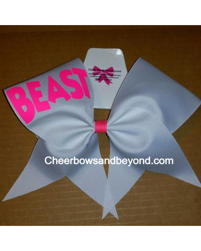 Beast Cheer Bows -Several Color Options
