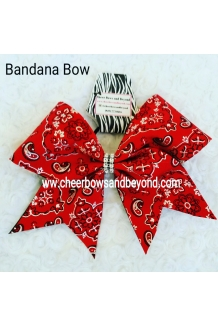 Bandanna Cheer Bows *Several..