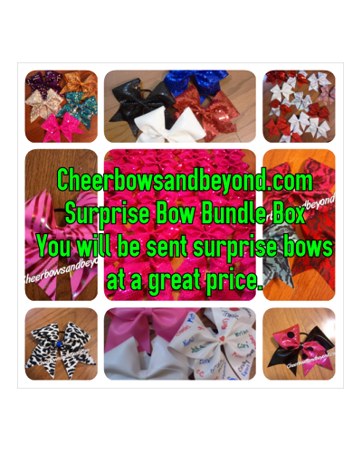 Cheer Bow Bundle Pack