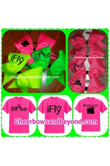 Stunting Cheer Bows*Also Shirts Available*Several Colors