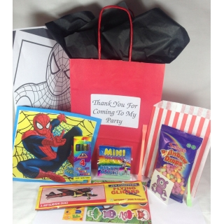 Spiderman Deluxe Filled..