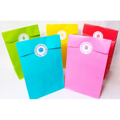 Unisex Pre Filled Paper Party Bags