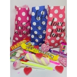 Ready Filled Polka Dot Sweet Bags