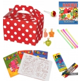 Red Polka Dot Party box